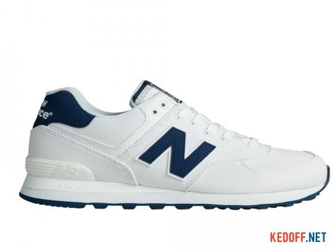 Кроссовки New Balance Ml574hrw Белые фото