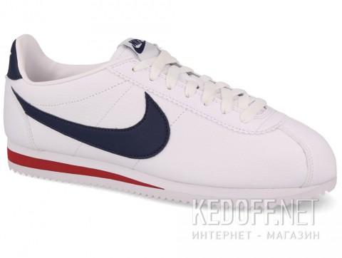 Мужские комфорт Nike Classic Cortez Premium Leather 749571-146 белый