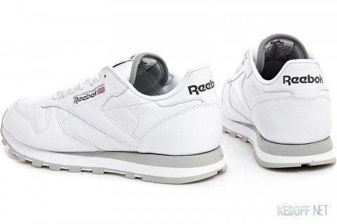 Кроссовки Reebok Classic Leather 2214 WhiteGrey