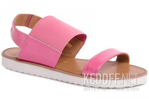 Женские сандали Las Espadrillas 2244-34 Розовые фото