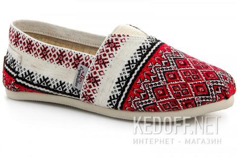 Летняя обувь Las Espadrillas Vyshyvanka 3015-62 фото