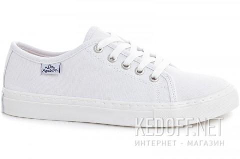 Кеды Las Espadrillas Classic White 4799-7652 Белые  фото