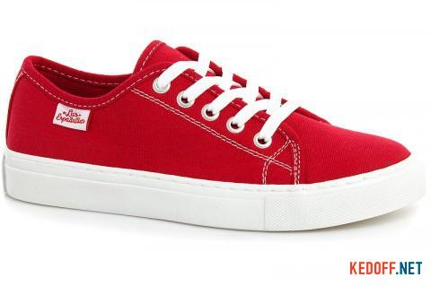 Кеды Las Espadrillas Classic Red 4799-9696 Красный хлопок фото
