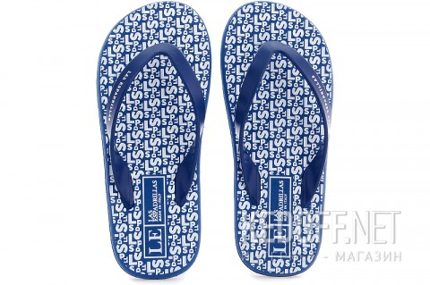 Мужские вьетнамки Las Espadrillas Flip Flops F6574-8913 Made in Italy фото