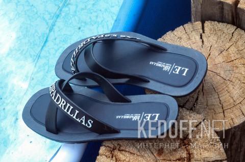 Мужская пляжная обувь Las Espadrillas V6596-89 тмно-синий