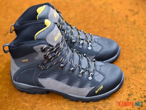 Мужские трекинговые ботинкиLytos Rocker Fire 18 3ET004-18 тмно-серый