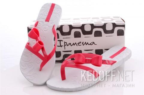 Женские тапочки Ipanema 80284-20814 Белый Розовый фото