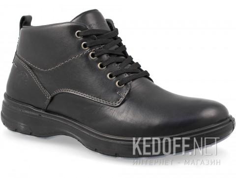 Мужские ботинки Forester Komfort 4823-23Fo Черная кожа фото