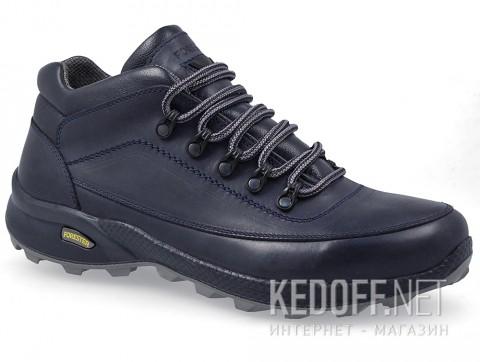 Мужские ботинки Forester Trek 7843-005 Тмно-синяя кожа фото
