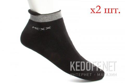 Носки Mexx 007301-0005 унисекс чрныйсерый