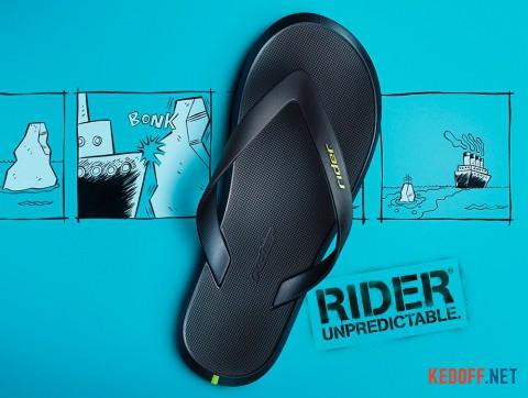 Вьетнамки Rider R1 10594-23749 салатовыйзеленыйчрный