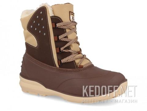 Зимние ботинки на слякоть Forester Grenlandia A7011-18 Brown Colorway фото