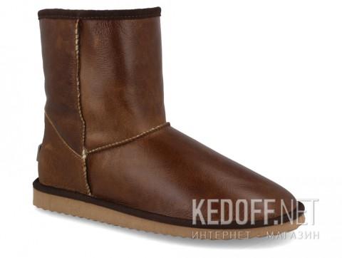 Мужские угги Forester Western 111001-2305 Коричневый, Натуральная кожа фото