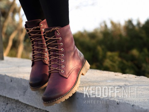 Ботинки Forester Ankle Bordeau 3551-48