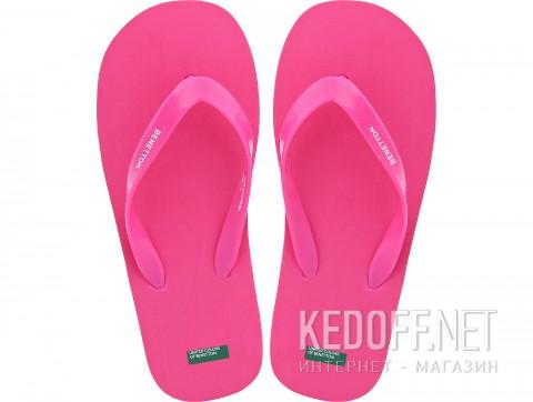 Вьетнамки Benetton 603 Розовые фото