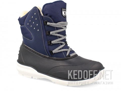 Зимние ботинки на слякоть Forester Grenlandia Navy A7011-89 Wool фото