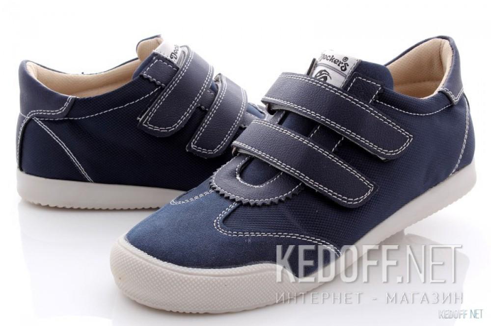 Туфли Dockers 214840-205071   (синий) купить Украина