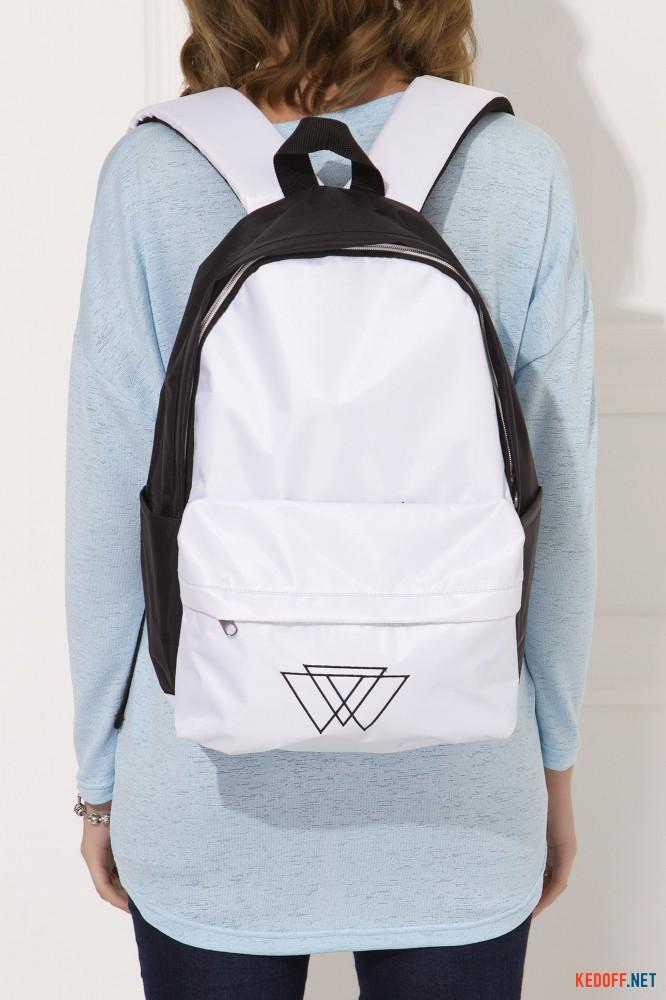 Рюкзак Warm 3500020 унисекс   (чёрный/белый) все размеры