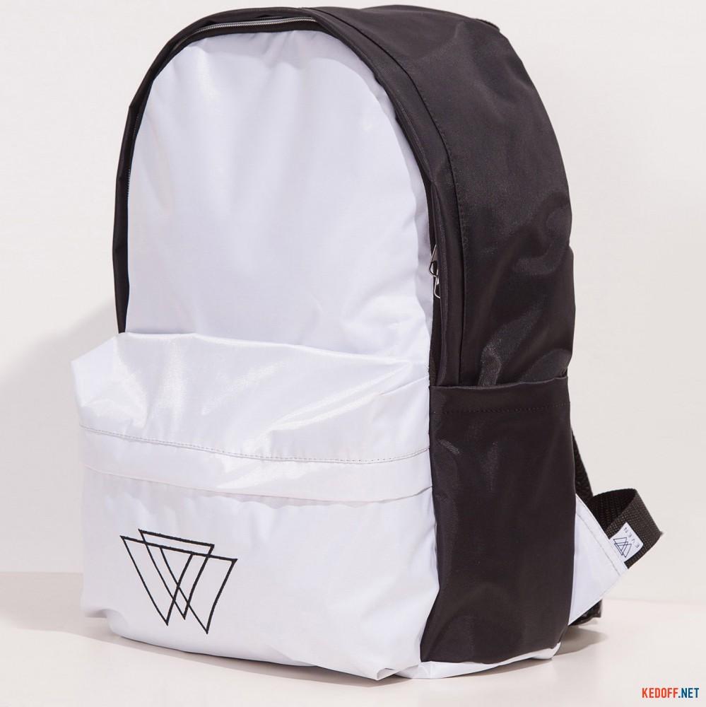 Рюкзак Warm 3500020 унисекс   (чёрный/белый) доставка по Украине