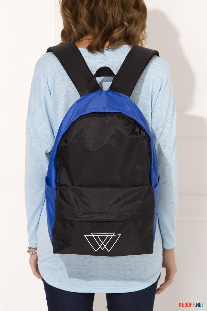 Рюкзак Warm 3 500 025 унисекс   (синий/чёрный) все размеры