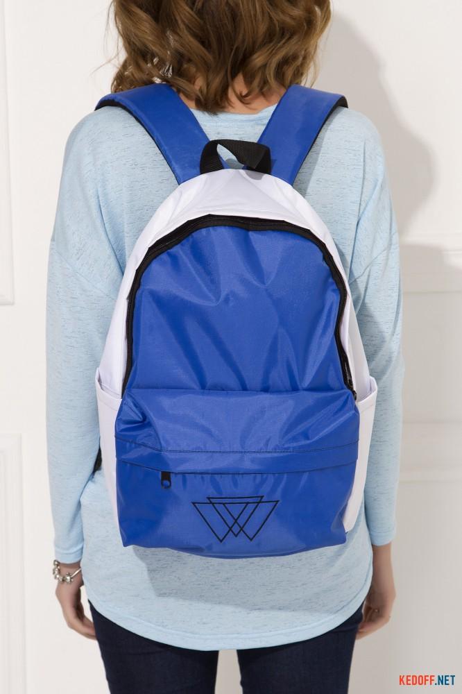Рюкзак Warm 3500029 унисекс   (синий/белый) все размеры