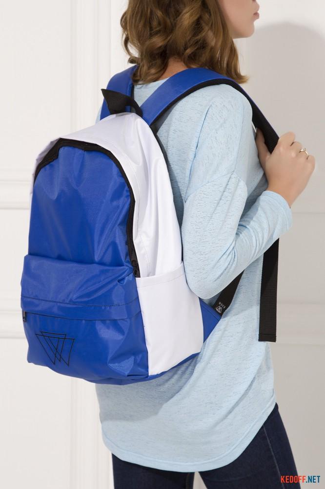 Доставка Рюкзак Warm 3500029 унисекс   (синий/белый)