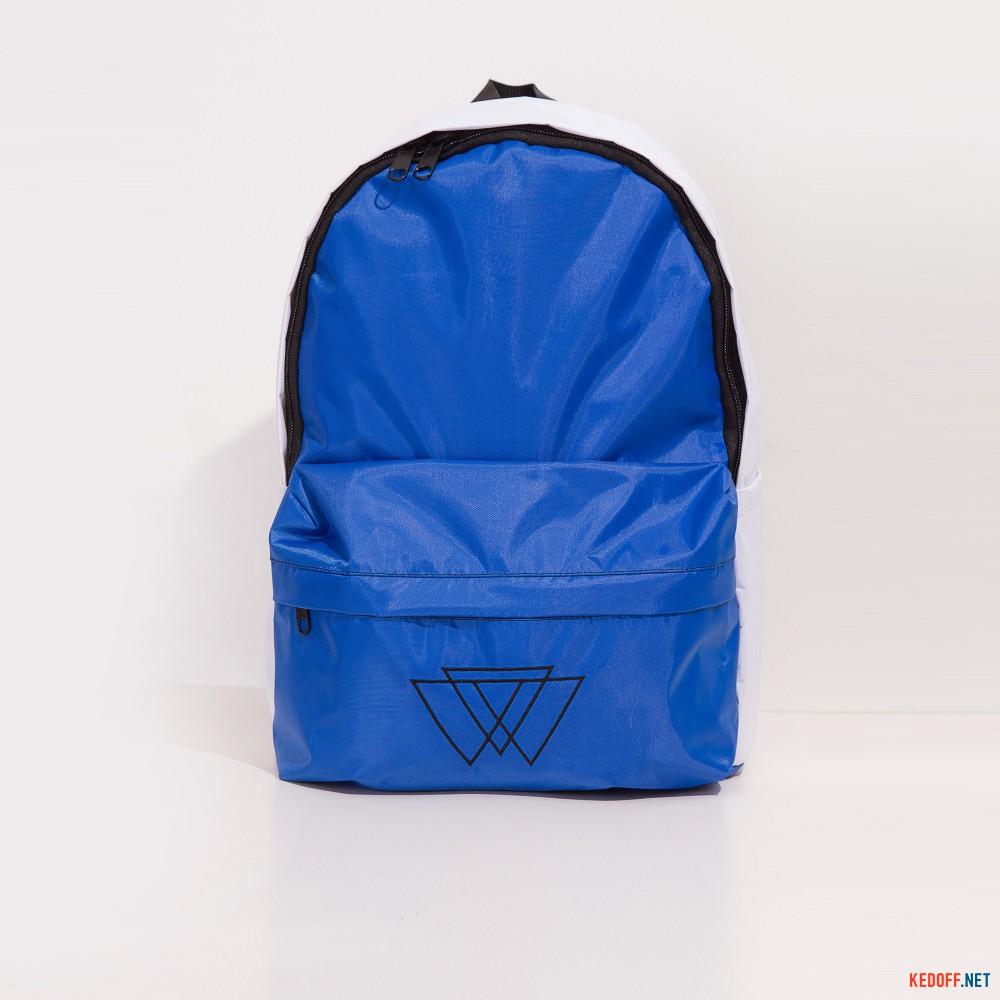 Рюкзак Warm 3500029 унисекс   (синий/белый) доставка по Украине
