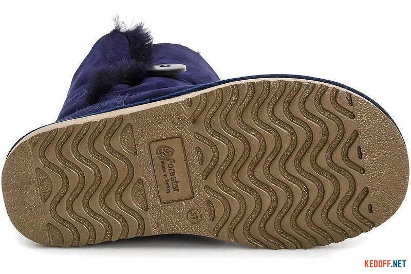 Уггі Forester 51001-1011 Сині з ґудзиком