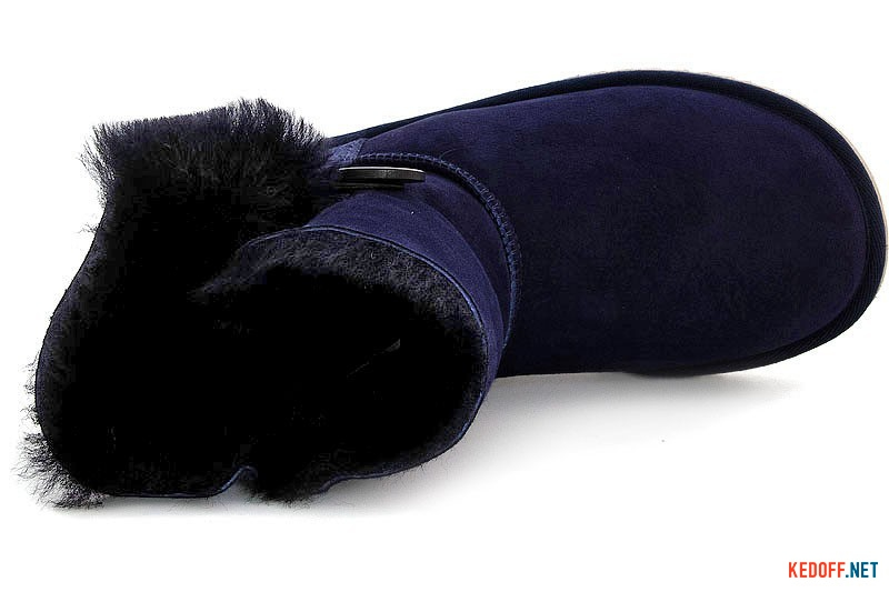 Угги Forester 51001-1011 Синие с пуговицей