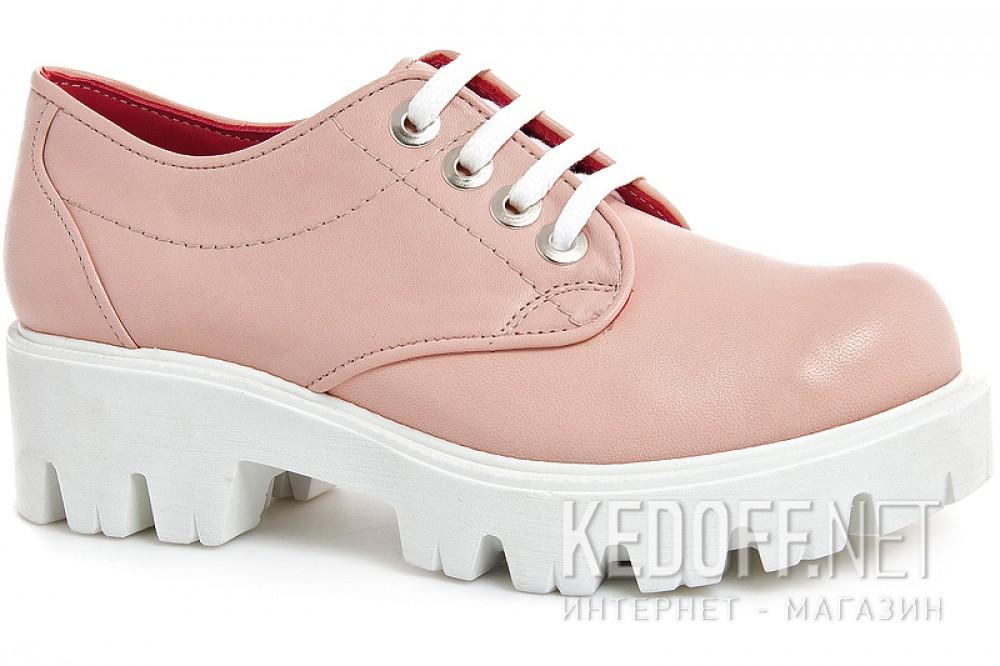 Обувь платформе Las Espadrillas Roze Quartz 658301-1 натуральная кожа