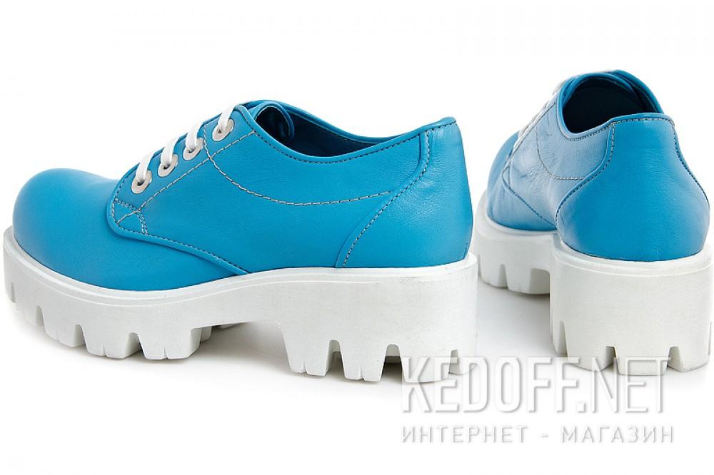 Женские сникерсы Las Espadrillas 658301   (голубой) купить Украина