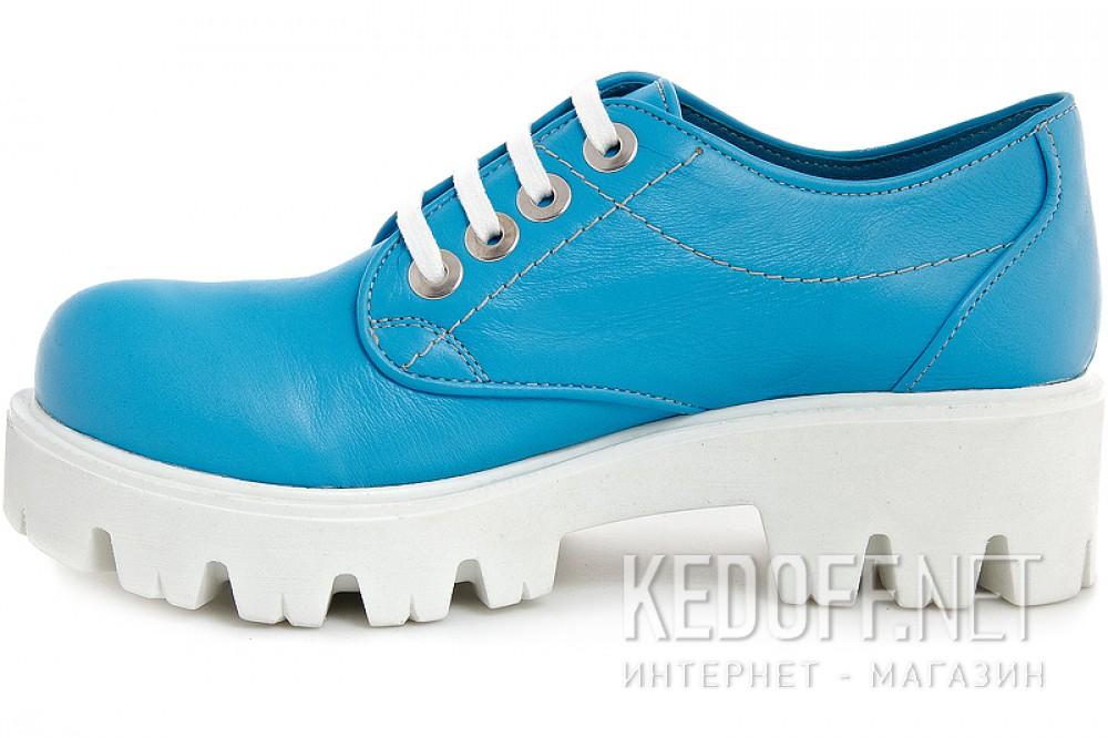 Женские сникерсы Las Espadrillas 658301   (голубой) купить Киев