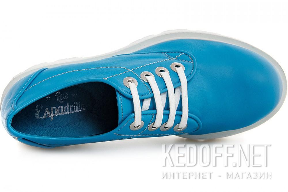 Цены на Женские сникерсы Las Espadrillas 658301   (голубой)
