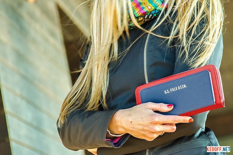 Купить Клатчи и кошельки U.S. Polo Assn 8021-1 унисекс   (красный/синий)
