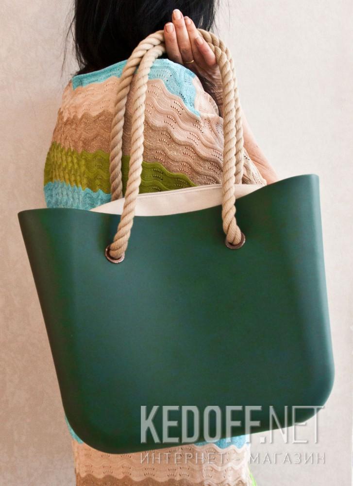 Сумки женские Las Espadrillas O Foam Bag 1211-2   (бирюзовый) купить Украина