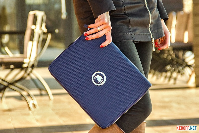 Купить Клатч U.S. Polo Assn 8300-2   (синий)