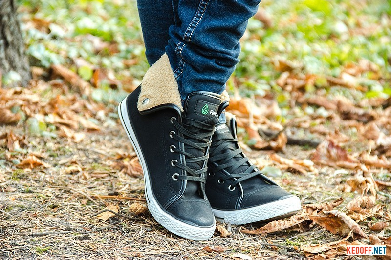 Sneakers insulated Forester 9088 Black