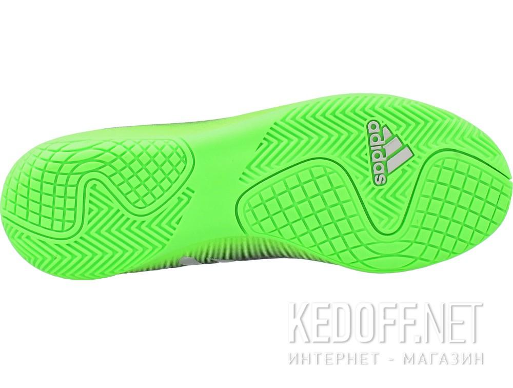 Бутсы Adidas Messi 16.4 In Junior AQ3527 унисекс   (зеленый/чёрный) купить Киев