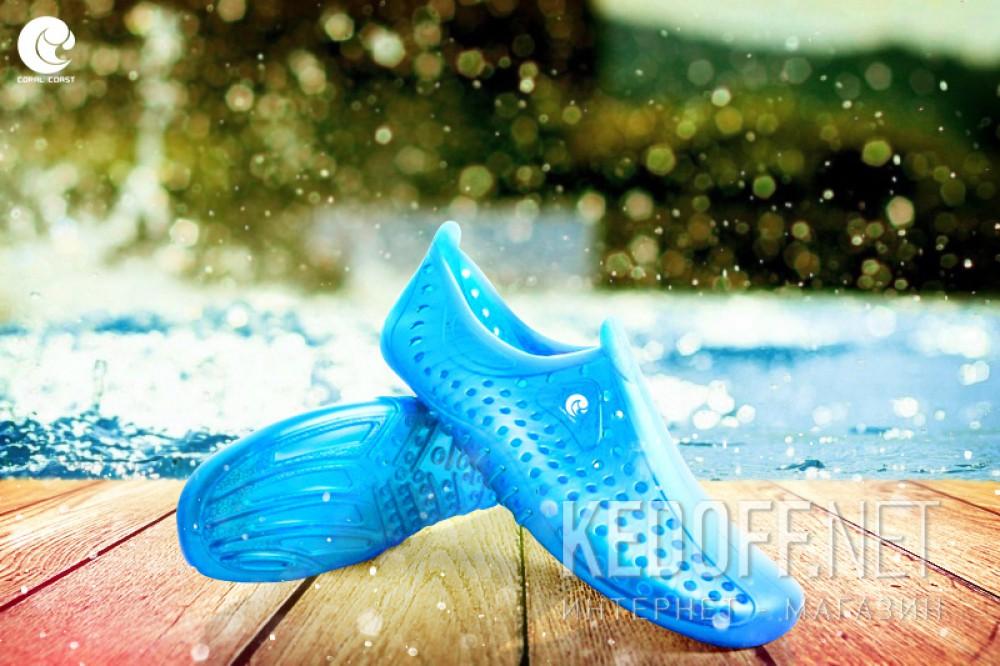 Аквавзуття Coral Coast Junior 77084-1D Made in Italy унісекс (блакитний) купити Україна