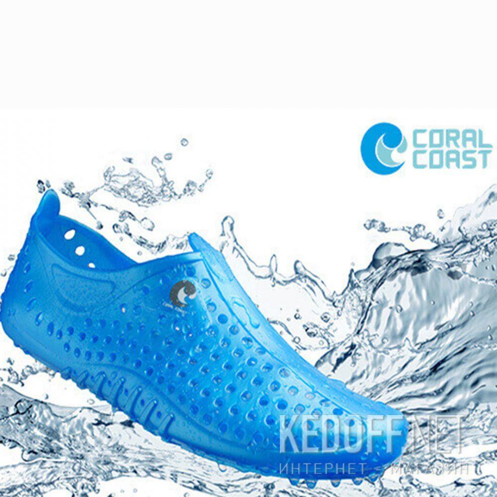 Аквавзуття Coral Coast Junior 77084-1D Made in Italy унісекс (блакитний) доставка по Украине