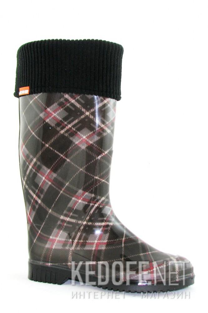 Купить Резиновые сапоги Alisa Line A201-27 унисекс   (multi-color/чёрный)