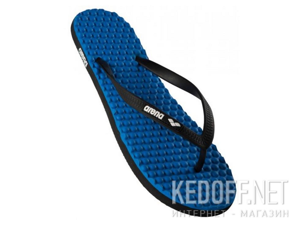 Купить Вьетнамки Arena Crawl Massage 1E766-57 унисекс   (тёмно-синий/синий)