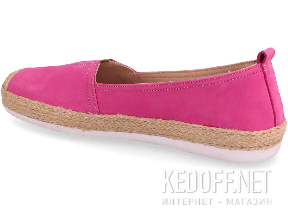 Кожаные мокасины Las Espadrillas 10119-24   (розовый/фиолетовый) купить Украина