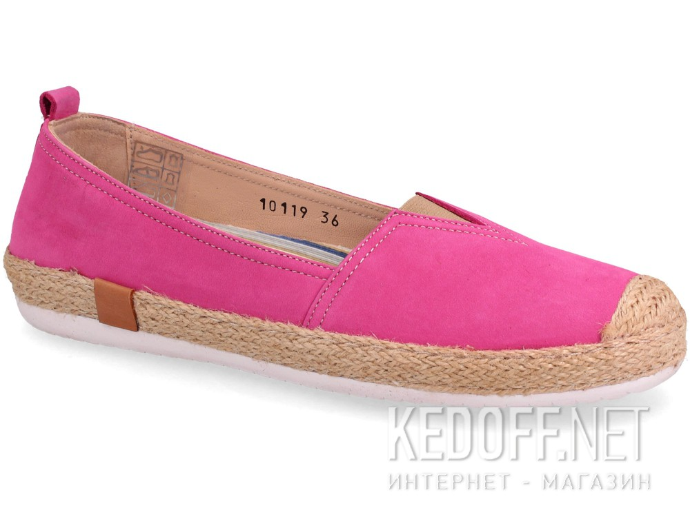 Add to cart Leather moccasins Las Espadrillas 10119-24 (pink/purple)