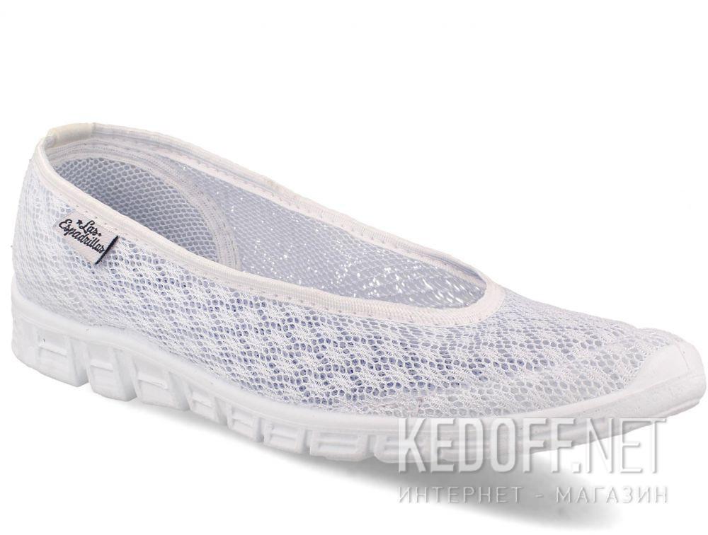 Балетки Las Espadrillas 32636-13   (белый) купить Украина