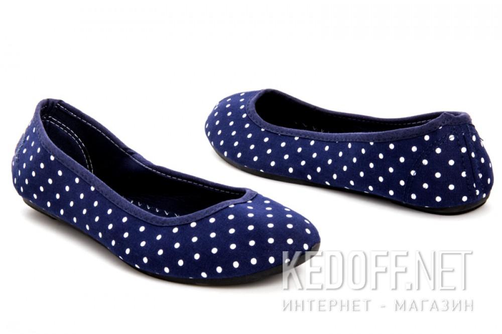 Чешки Las Espadrillas 804 унисекс   (синий) купить Украина