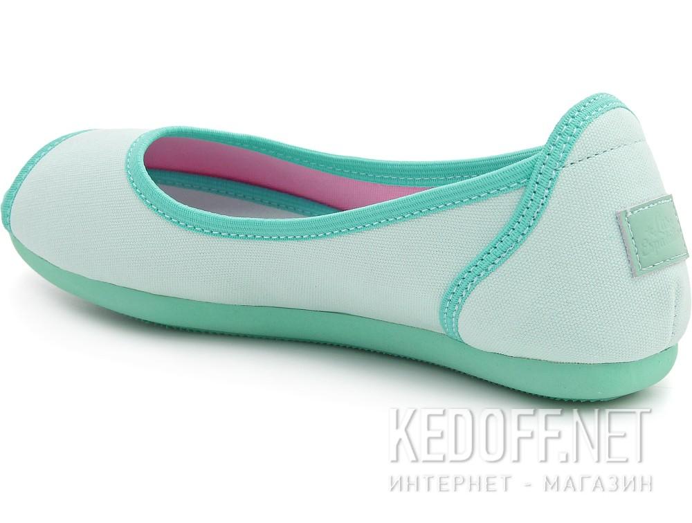 Балетки Las Espadrillas 72335-28   (зеленый) купить Киев