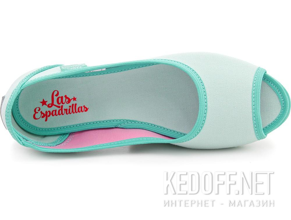 Ballet Flats Ballerinas Las Espadrillas 72335-28 Mentol Pink