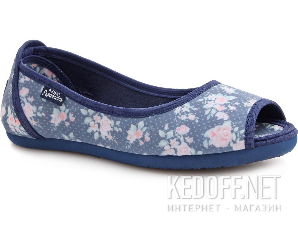 Балетки Las Espadrillas 72335-8034    (розовый/синий) купить Украина