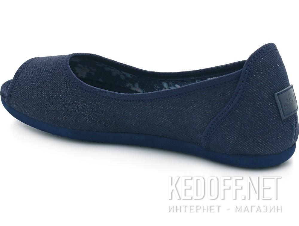 Балетки Las Espadrillas 72335-80   (тёмно-синий) купить Киев